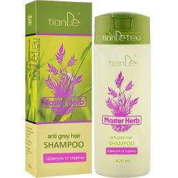 Шампоан против побеляване на косата Master herb