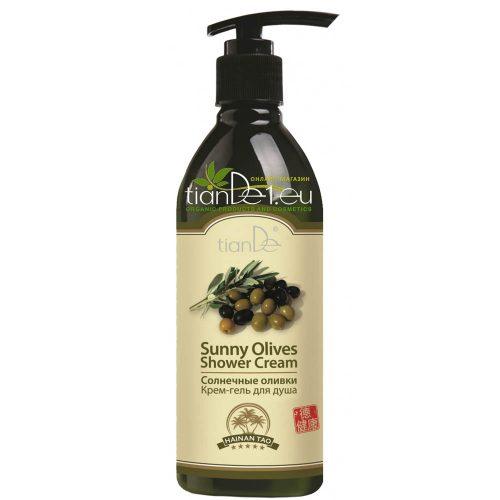 Крем гел за душ Слънчеви маслини
