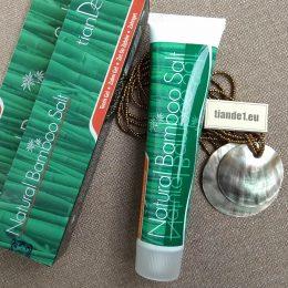 Гел за зъби Натурална бамбукова сол