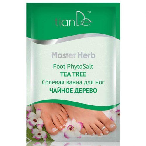 Солна вана за крака Чаено дърво