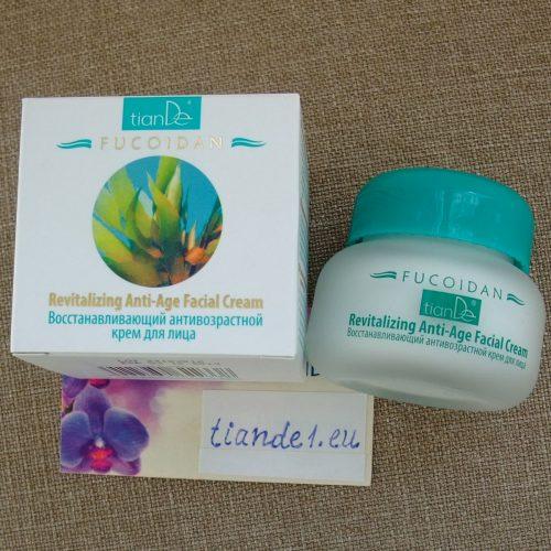 Възстановяващ крем за лице против стареене Fucoidan