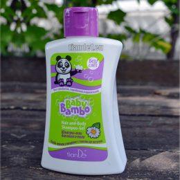Шампоан - гел за коса и тяло Baby Bambo