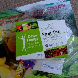 Плодов чай за прочистване от паразити