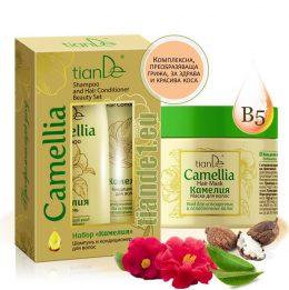Комплект за коса Camellia