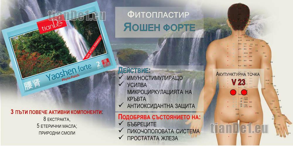 Фитопластир Яошен форте