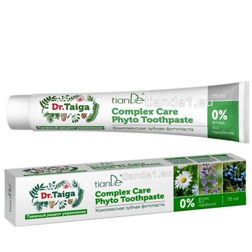 Комплексна фито паста за зъби Др Тайга