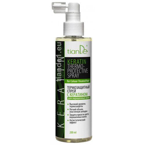 Спрей с кератин, термозащита за боядисаната коса