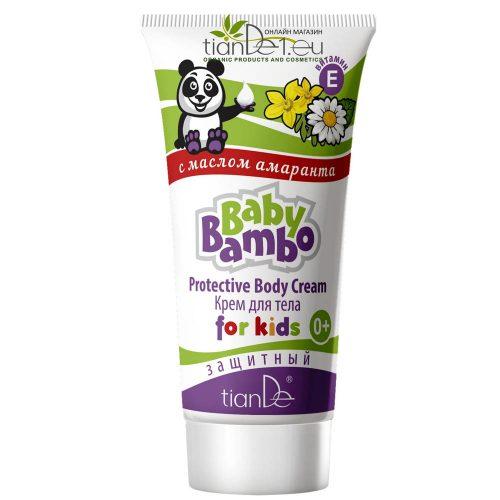 Детски защитен крем за тяло Бейби Бамбо