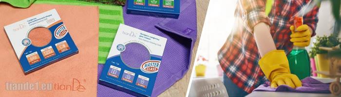 Почистваща кърпа от микрофибър за дома